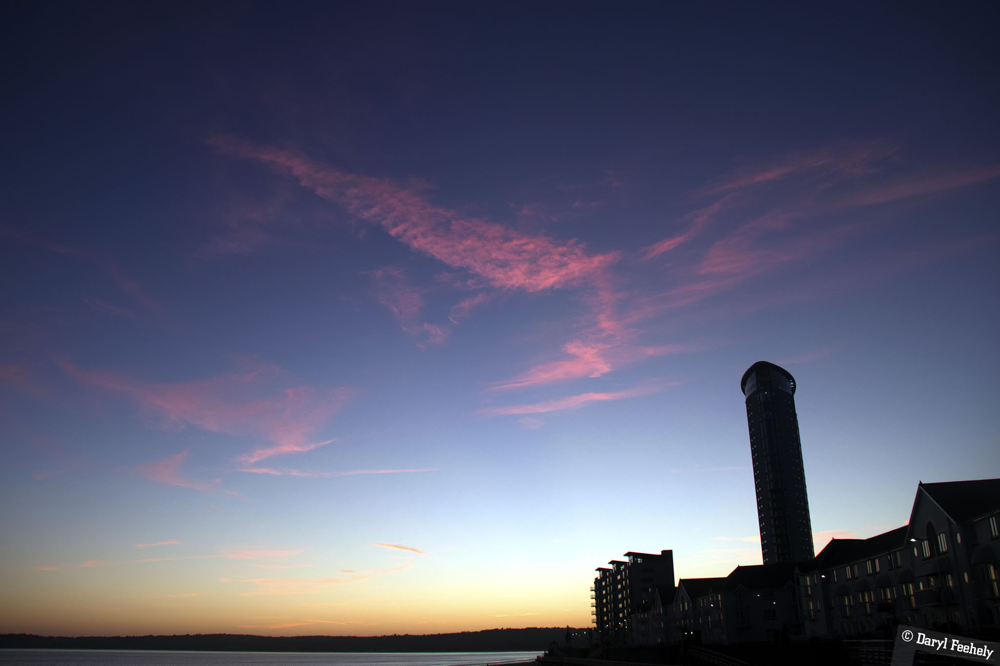 Swansea Bay Sunset