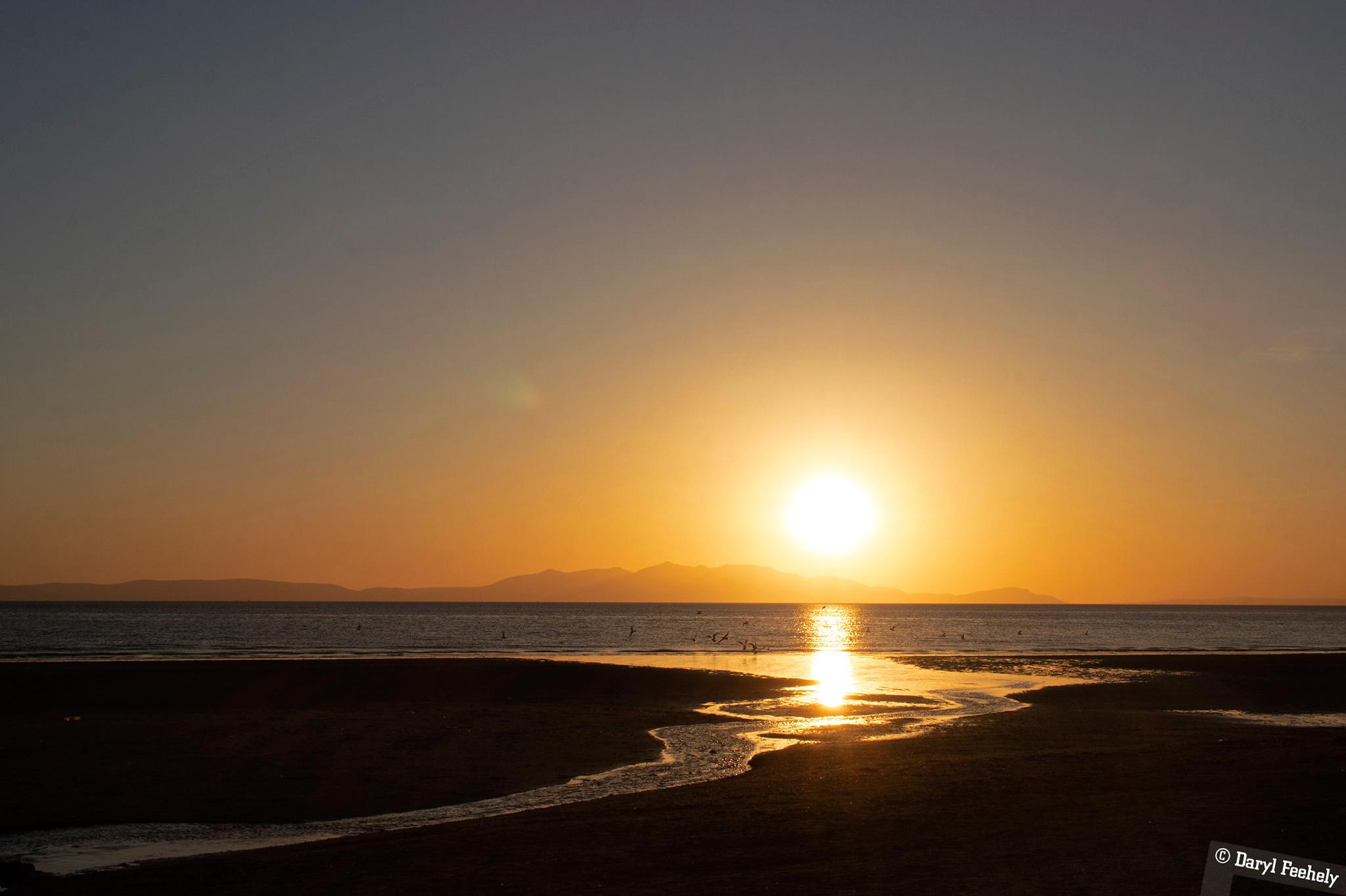 Isle of Arran Sunset