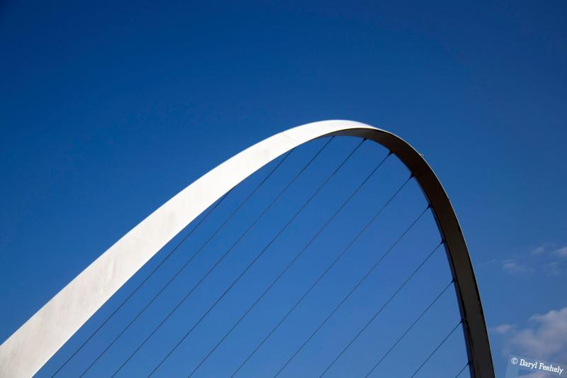 The Gateshead Millenium Bridge