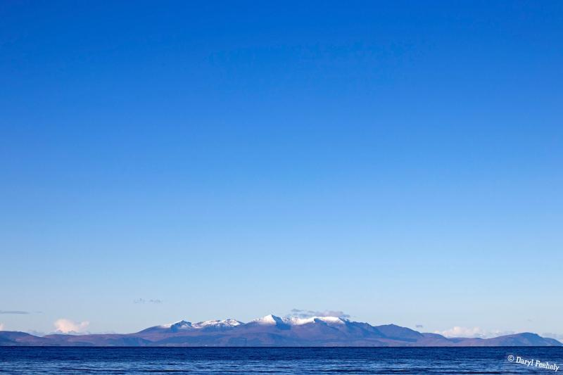 Snow Capped Isle of Arran
