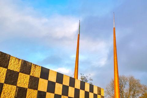 Tallest Flagpoles In Ireland