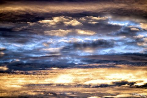 Crazy Sunset Clouds